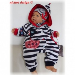 Niciart Baby Zipfel Overall...