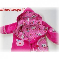 Niciart Baby Zipfel Overall...